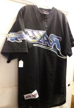 1998 Majestic Tampa Bay Devil Rays Authentic Inaugural Batti