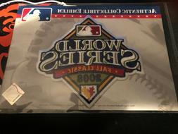 2008 MLB World Series Logo Jersey Sleeve Patch Tampa Bay Ray