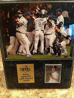 2008 Tampa Bay Rays Baseball Framed Championship Photo Plaqu