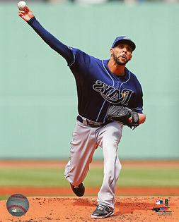 2013 Tampa Bay Rays DAVID PRICE Glossy 8x10 Photo MLB Baseba