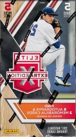 2017 Panini Elite Extra Edition Baseball sealed hobby box 5