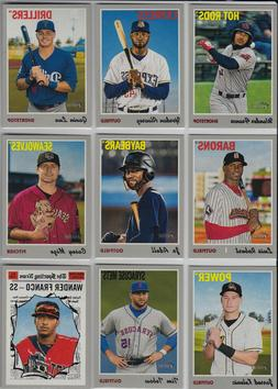 2019 Topps Heritage Minor League Complete Base Set (200 Card