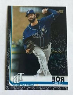 2019 Topps Series 2 #405 Chaz Roe Black Parallel Card 47/67