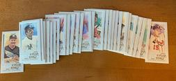 2020 Allen & Ginter Mini Parallel Pick a Card Finish Your Se