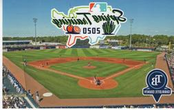 2020 Tampa Bay Rays Spring Training Postcard Featuring Charl