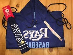 3 Piece Tampa Bay Rays Fan Gear - String Bag/Headband/Bracel