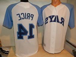 3520 Majestic MENS Tampa Bay Rays DAVID PRICE Baseball Jerse