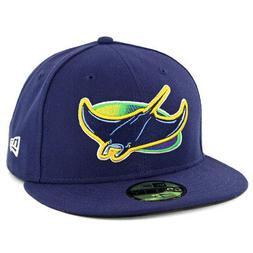 New Era 59Fifty Tampa Bay Rays ALT Fitted Hat  MLB Cap