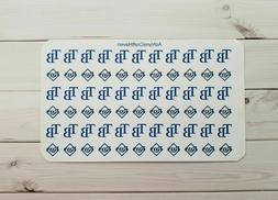 66 Tampa Bay Rays Baseball Planner Stickers- Perfect For Any