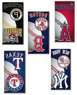Beach Towel  MLB Blanket Vacation Summer Pool - Pick Team