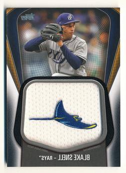 BLAKE SNELL 2020 TOPPS JUMBO JERSEY SLEEVE PATCH #122/149 BL