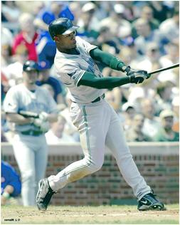 Carl Crawford Tampa Bay Rays Baseball 8x10 Photo
