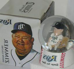 Tampa Bay Rays Don Zimmer SnowGlobe NEW!  RARE COLLECTABLE B