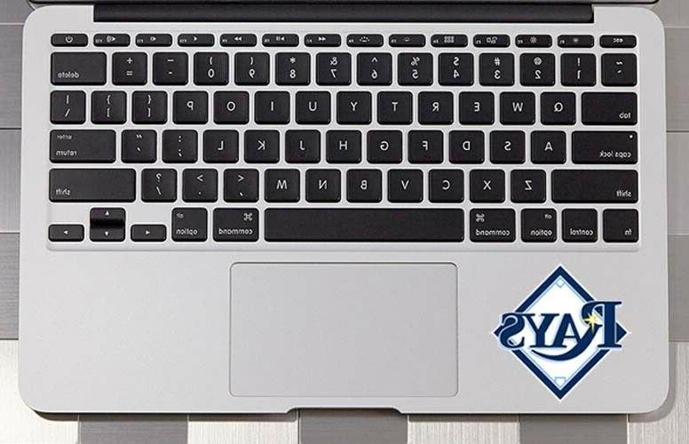 2x tampa bay rays car window laptop
