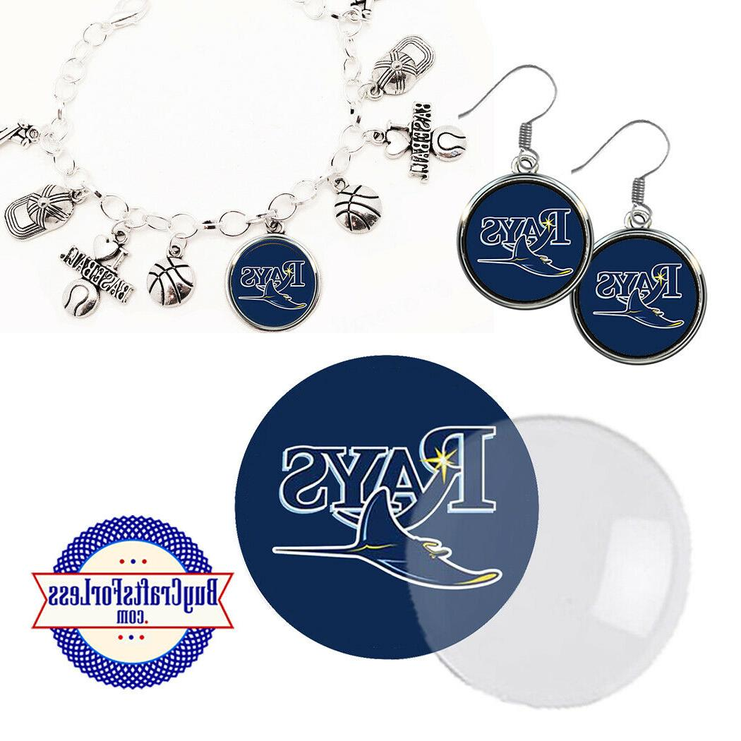 free design tampa bay rays earrings pendant
