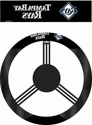 Tampa Bay Rays Steering Wheel Cover MLB Baseball Team Logo P