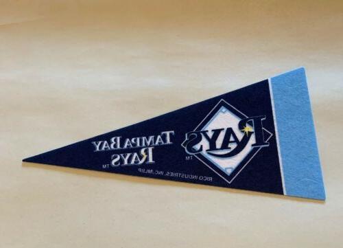 mlb tampa bay rays baseball mini pennant
