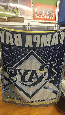 New Northwest Tampa Bay Rays Large Tapestry Throw Blanket 48