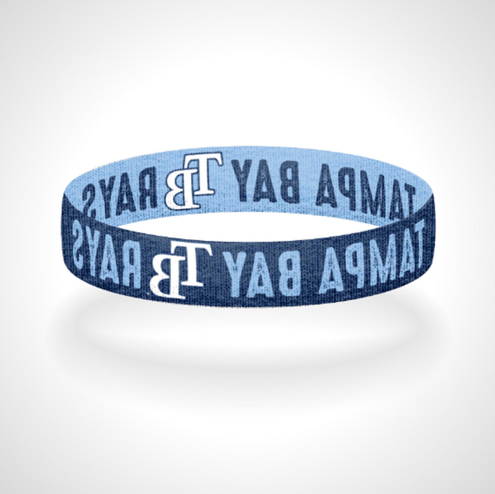 reversible tampa bay rays bracelet wristband rays