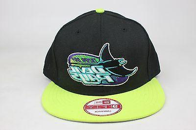 tampa bay devil rays black neon yellow tampa bay rays bats