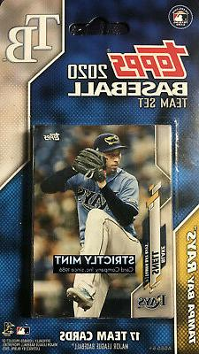 Tampa Bay Rays 2020 Topps Factory Sealed Team Set  Kevin Kie