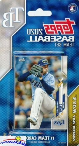 tampa bay rays 2020 topps limited edition