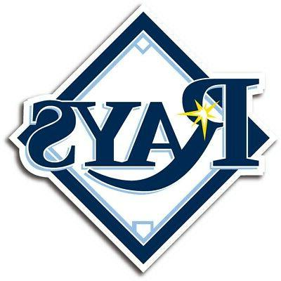 tampa bay rays decal sticker die cut