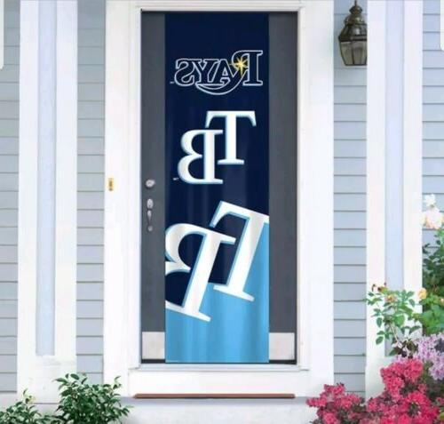 tampa bay rays door banner 24 x