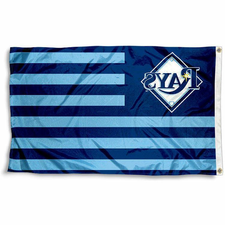 tampa bay rays flag 3 x5 mlb