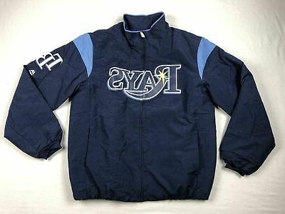 tampa bay rays jacket men s navy