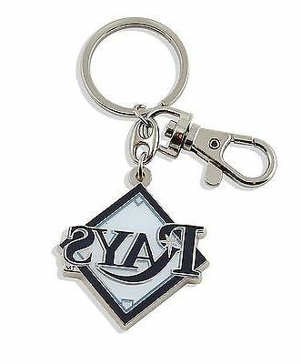 tampa bay rays keychain metal heavyweight key