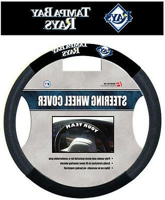 tampa bay rays mesh steering wheel cover