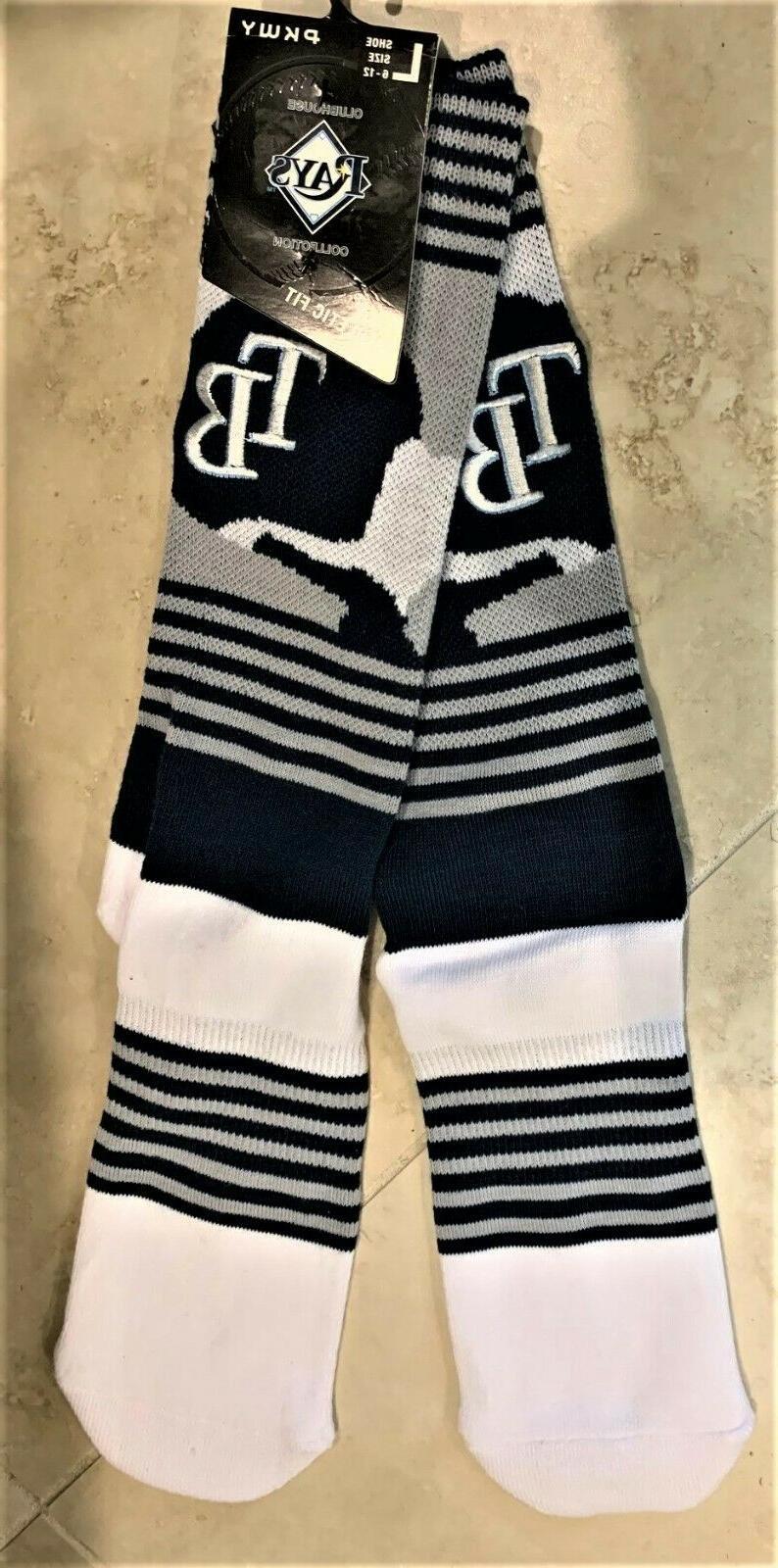tampa bay rays mlb certified crew socks