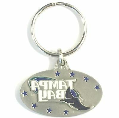 tampa bay rays mlb keychain
