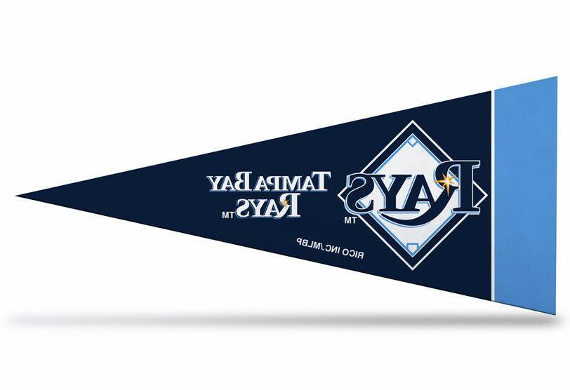 tampa bay rays mlb mini pennant 9