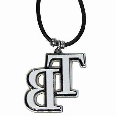 Tampa Bay Rays Official MLB Rubber Cord Necklace by Siskiyou