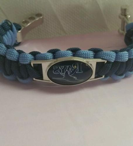 Tampa Survival bracelet alloy shackle logo