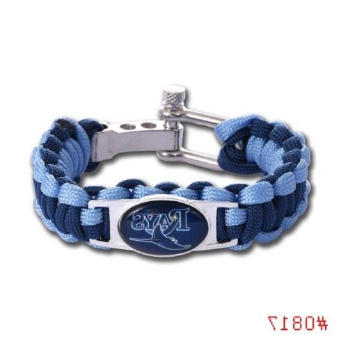 tampa bay rays paracord bracelet military spec