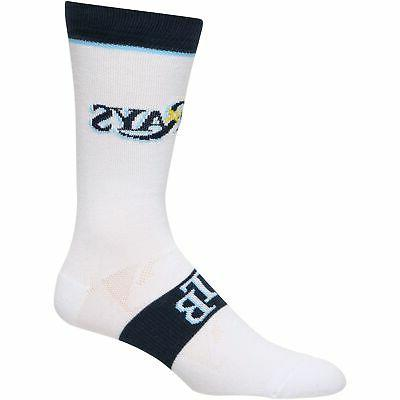 tampa bay rays uniform crew socks white