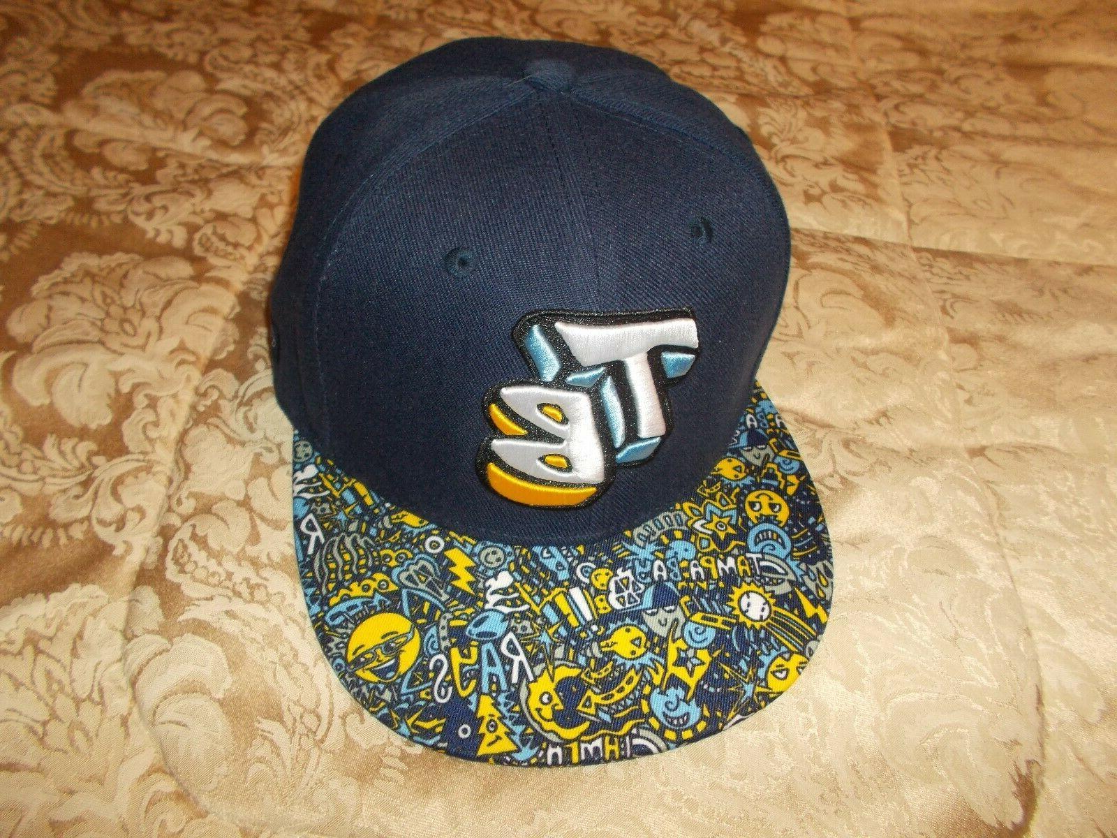 tampa bay rays youth snapback baseball cap