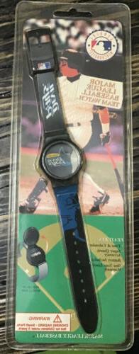 Vintage Mlb Tampa Bay Devil Rays Wrist Watch 1995