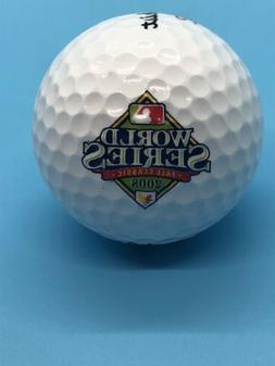 MLB 2008 World Series Logo Titleist DT Roll Golf Ball Philli
