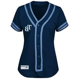 Majestic MLB Apparel TAMPA BAY RAYS   Women's Dri Fit Jersey