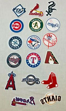MLB Baseball Team Decal / Sticker Car Decal Luggage Skateboa