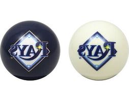 MLB Imperial Tampa Bay Rays Pool Billiard Cue/8 Ball One Pai