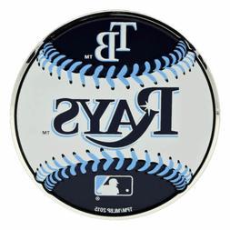 MLB Officially Licensed Baseball Tampa Bay Rays Aluminum Emb