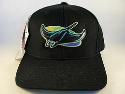 MLB Tampa Bay Devil Rays Vintage Snapback Hat Cap American N
