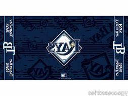 "MLB Tampa Bay Rays 30"" X 60 "" Fiber Reactive Pool Beach Dorm"