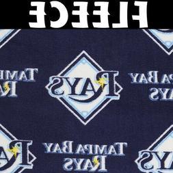 MLB Tampa Bay Rays 6577-B Fleece Fabric by the Yard