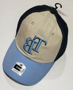 MLB Tampa Bay Rays Basic Cap Hat Fan Favorite Baseball Sport